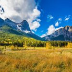 Panorama to illustrate dating in canmore