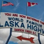 Panorama to illustrate dating in dawson creek