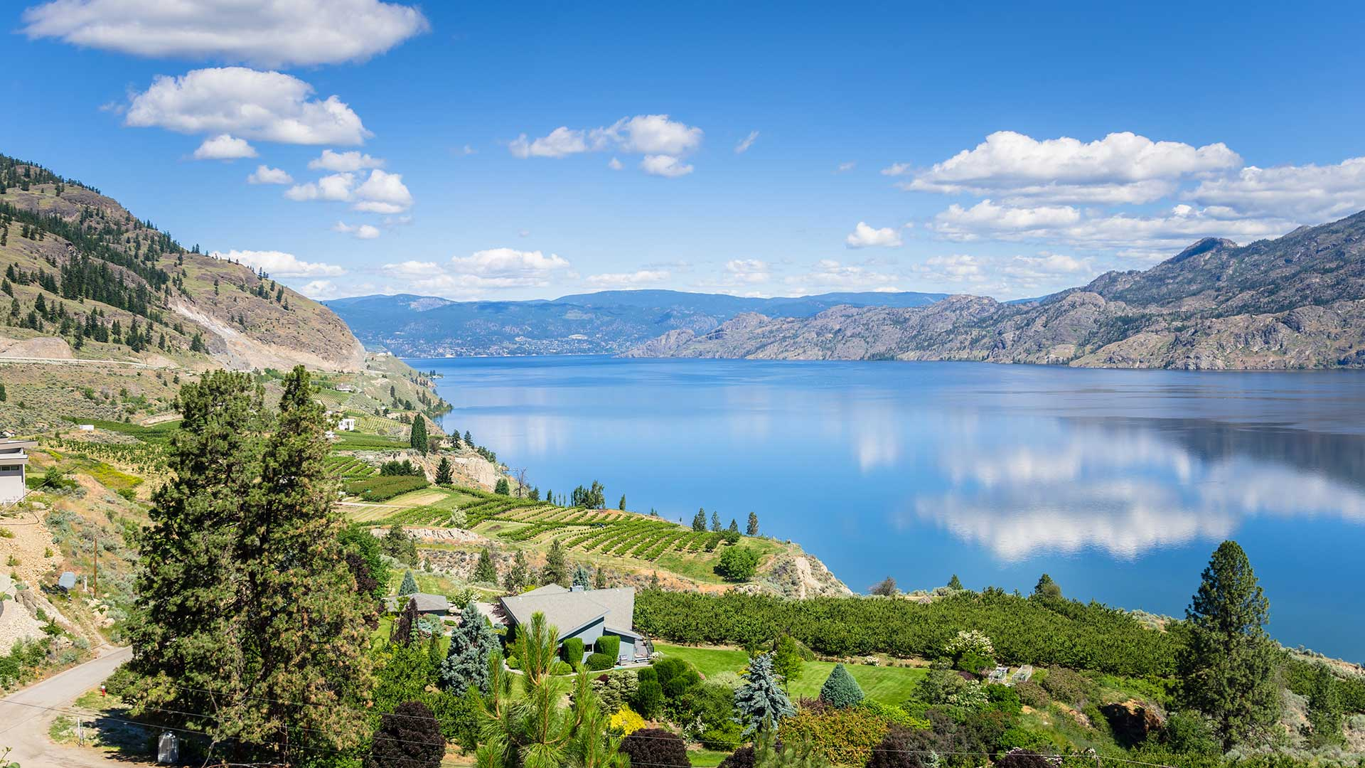 Panorama to illustrate dating in penticton